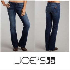 Joe's Distressed Muse Mid Rise Bootcut Jeans 28 6